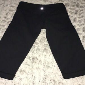 Lululemon Black Capri Workout Wear